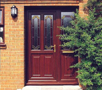 woodgrain upvc doors and windows